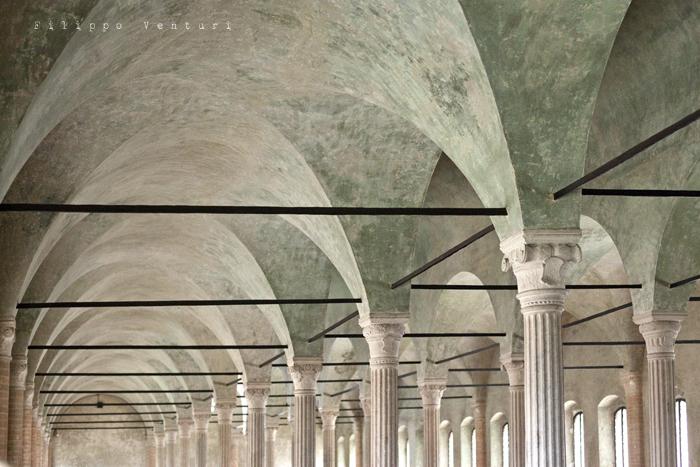Biblioteca Malatestiana di Cesena (Humanistic Conventual Library, commissioned by the Lord of Cesena Malatesta Novello)
