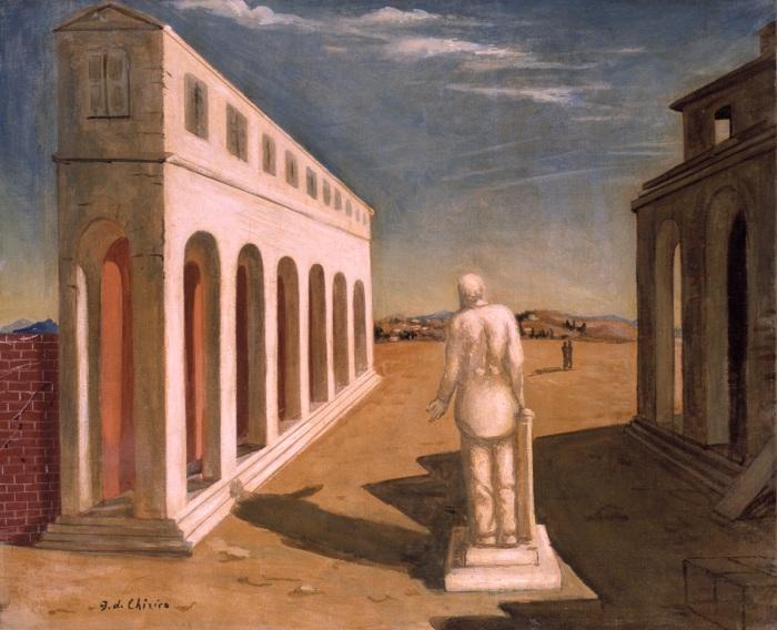 Giorgio de Chirico - Piazza (Souvenir d'Italie) 1925