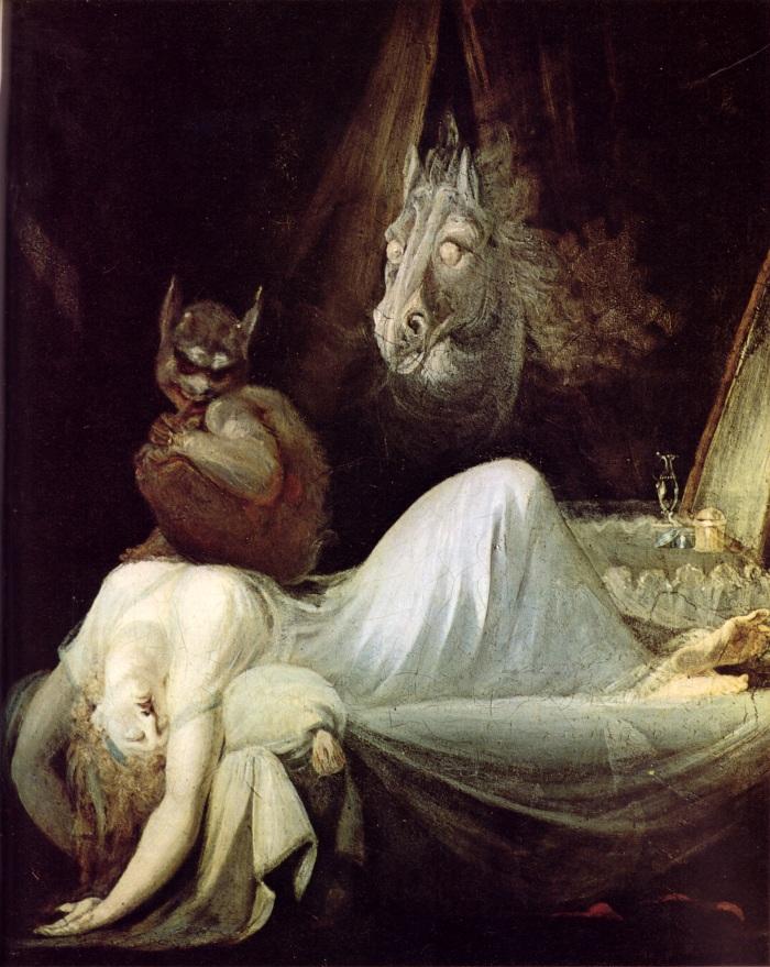 Johann Heinrich Füssli, L'incubo (Nightmare) 1781