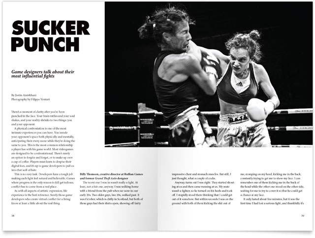 Kill Screen Magazine, Issue #3, Sucker Punch
