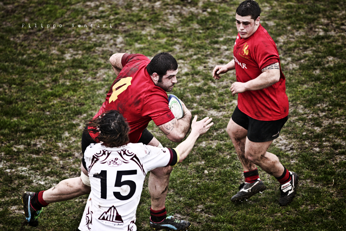 Romagna Rugby VS Lions Amaranto (photo 2)