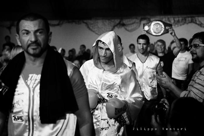 Boxe, Matteo Signani vs Gaetano Nespro (Seven di Savignano) Foto 4