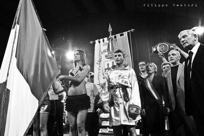 Boxe, Matteo Signani vs Gaetano Nespro (Seven di Savignano) Foto 6