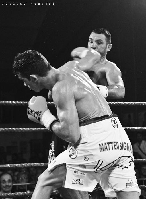 Boxe, Matteo Signani vs Gaetano Nespro (Seven di Savignano) Foto 8