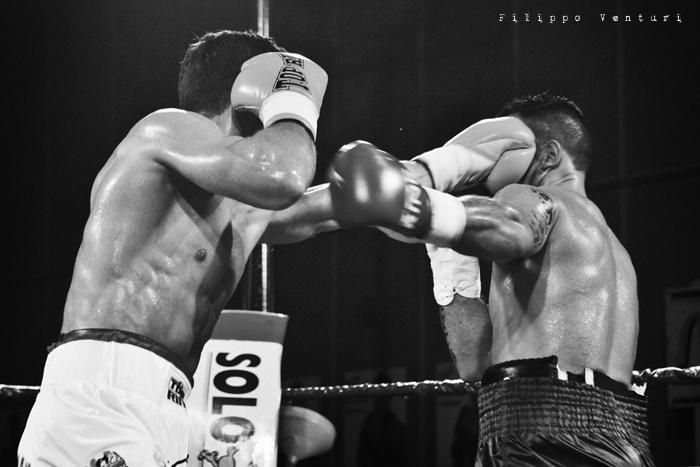 Boxe, Matteo Signani vs Gaetano Nespro (Seven di Savignano) Foto 9