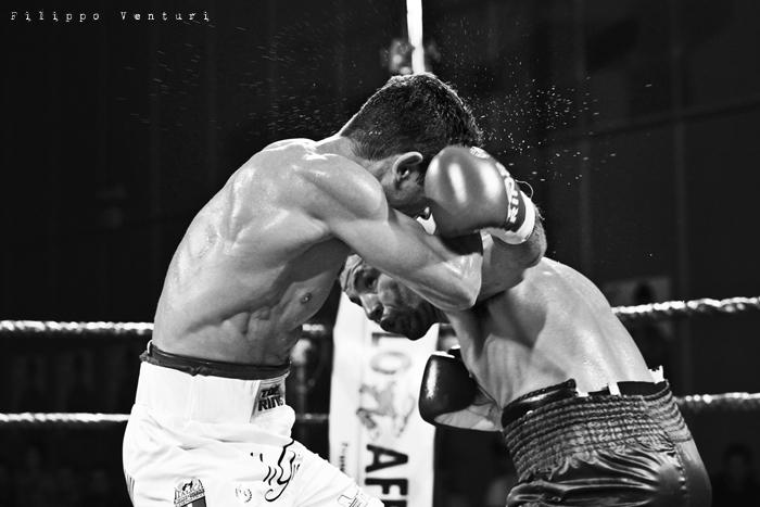 Boxe, Matteo Signani vs Gaetano Nespro (Seven di Savignano) Foto 12