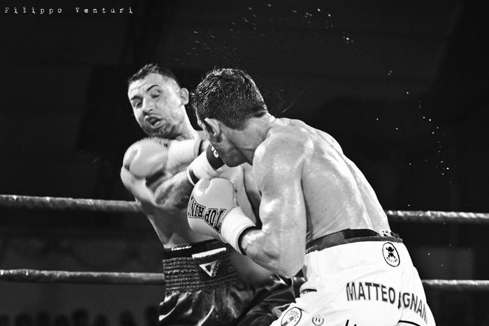 Boxe, Matteo Signani vs Gaetano Nespro (Seven di Savignano) Foto 13