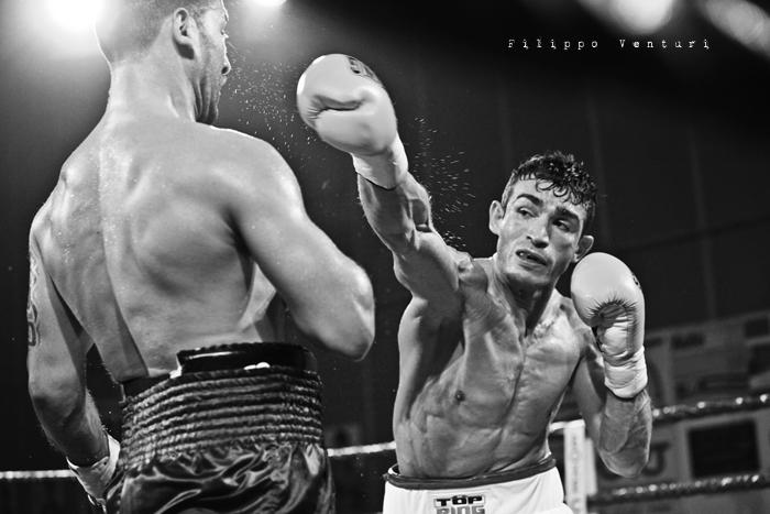 Boxe, Matteo Signani vs Gaetano Nespro (Seven di Savignano) Foto 14