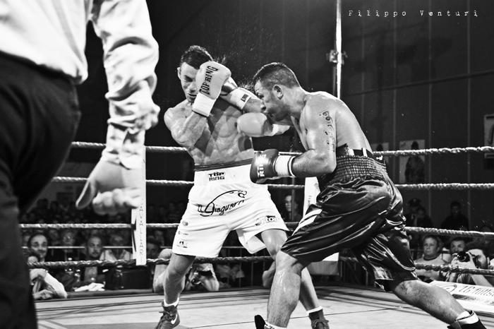 Boxe, Matteo Signani vs Gaetano Nespro (Seven di Savignano) Foto 16