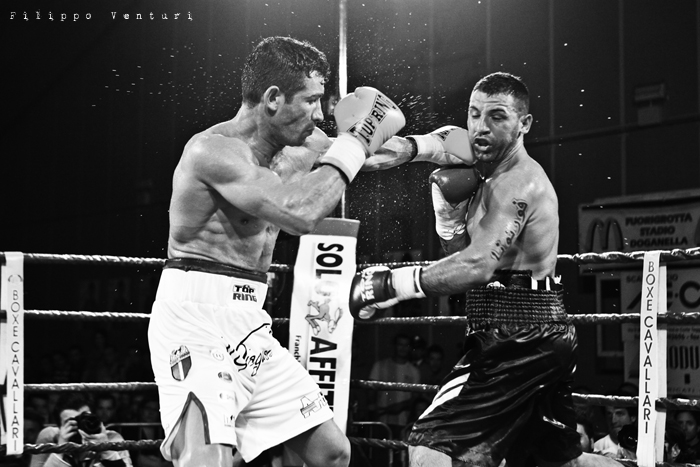 Boxe, Matteo Signani vs Gaetano Nespro (Seven di Savignano) Foto 17