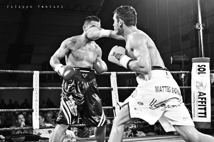 Boxe, Matteo Signani vs Gaetano Nespro (Seven di Savignano) Foto 19