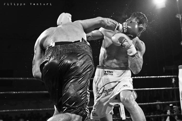 Boxe, Matteo Signani vs Gaetano Nespro (Seven di Savignano) Foto 21