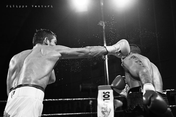 Boxe, Matteo Signani vs Gaetano Nespro (Seven di Savignano) Foto 23