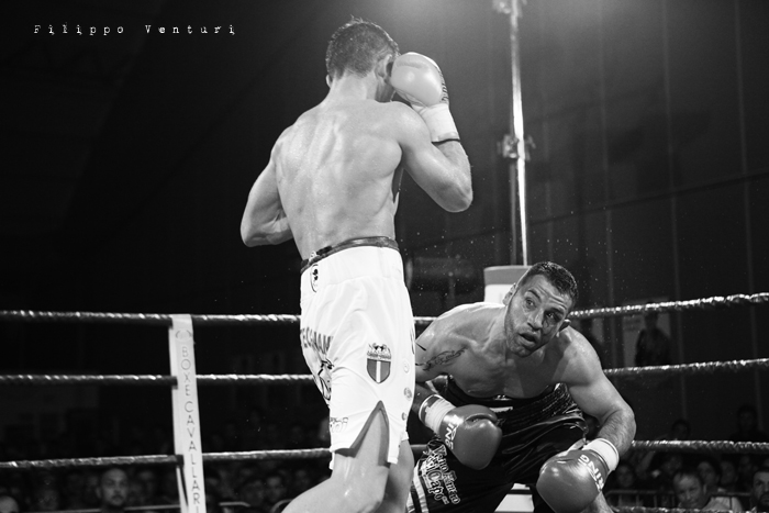 Boxe, Matteo Signani vs Gaetano Nespro (Seven di Savignano) Foto 24
