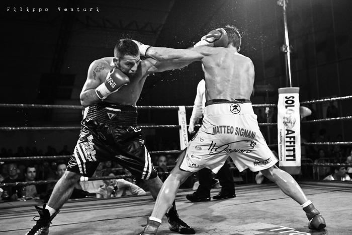 Boxe, Matteo Signani vs Gaetano Nespro (Seven di Savignano) Foto 25