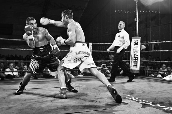 Boxe, Matteo Signani vs Gaetano Nespro (Seven di Savignano) Foto 27