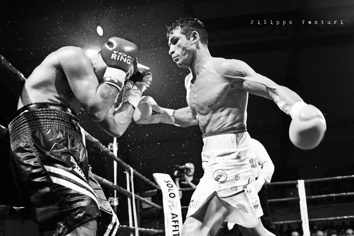 Boxe, Matteo Signani vs Gaetano Nespro (Seven di Savignano) Foto 28