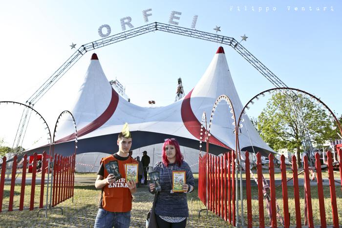 LAV Forlì Cesena, Sit-in contro il Circo con animali (foto 6)