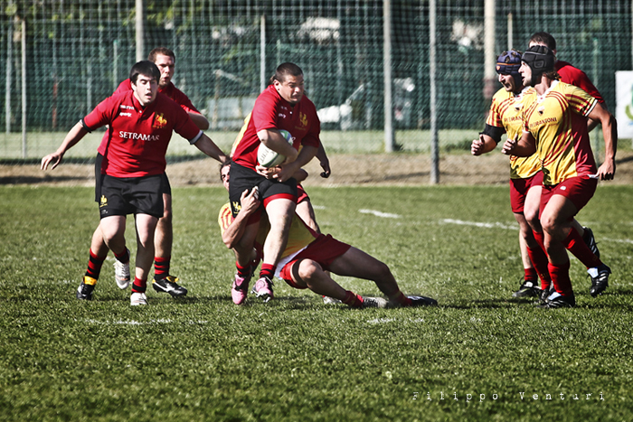 Romagna Rugby VS Pesaro Rugby (foto 12)
