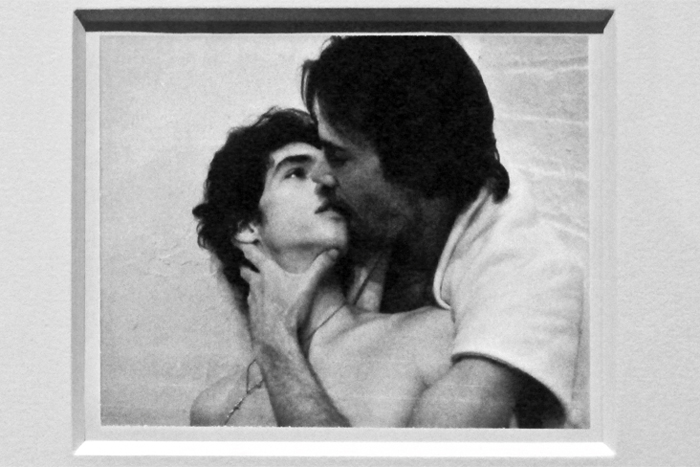 "Robert Mapplethorpe, ""Charles and Jim"", 1974, Polaroid"