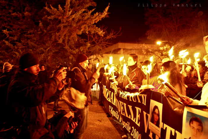 L'Aquila Earthquake March, photo #11