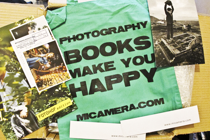 MiCamera, Photography books make you happy