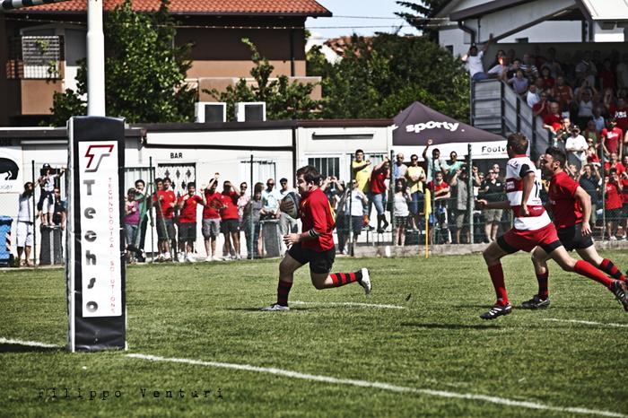 Il Romagna RFC conquista la Serie A (Romagna Rugby VS Rugby Casale) Photo 10