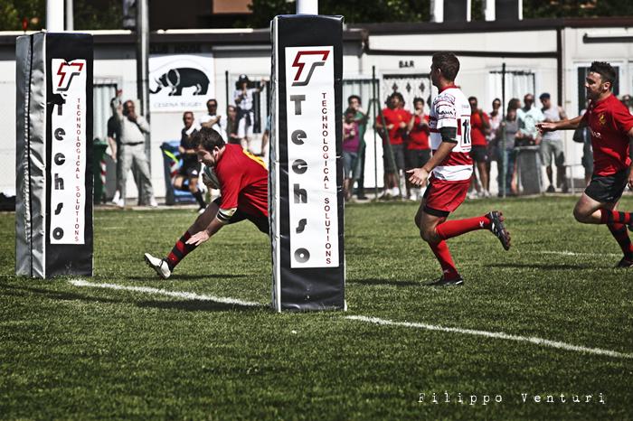 Il Romagna RFC conquista la Serie A (Romagna Rugby VS Rugby Casale) Photo 11