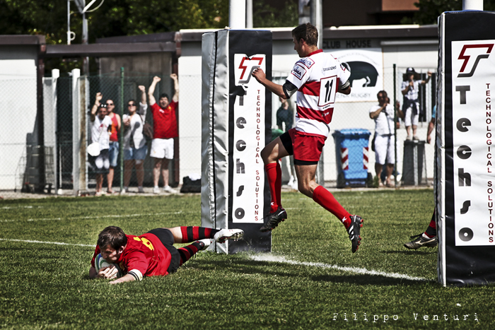 Il Romagna RFC conquista la Serie A (Romagna Rugby VS Rugby Casale) Photo 12