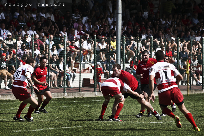 Il Romagna RFC conquista la Serie A (Romagna Rugby VS Rugby Casale) Photo 16