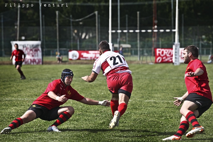 Il Romagna RFC conquista la Serie A (Romagna Rugby VS Rugby Casale) Photo 22