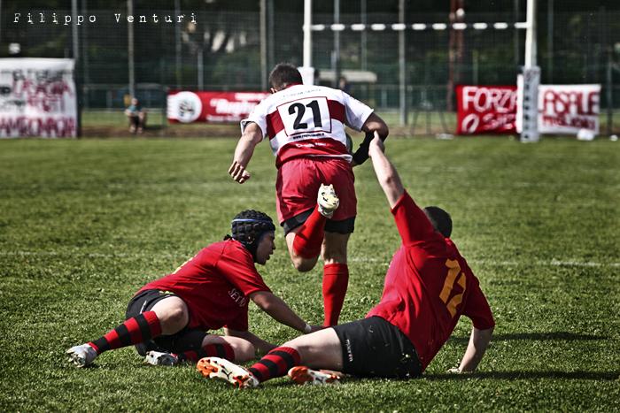 Il Romagna RFC conquista la Serie A (Romagna Rugby VS Rugby Casale) Photo 23