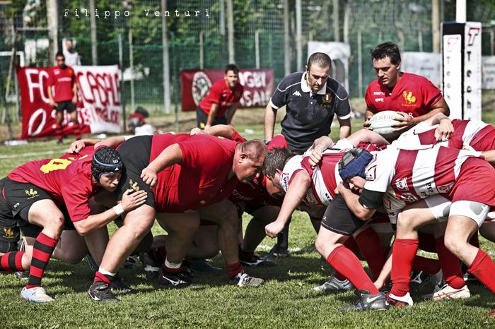 Il Romagna RFC conquista la Serie A (Romagna Rugby VS Rugby Casale) Photo 25
