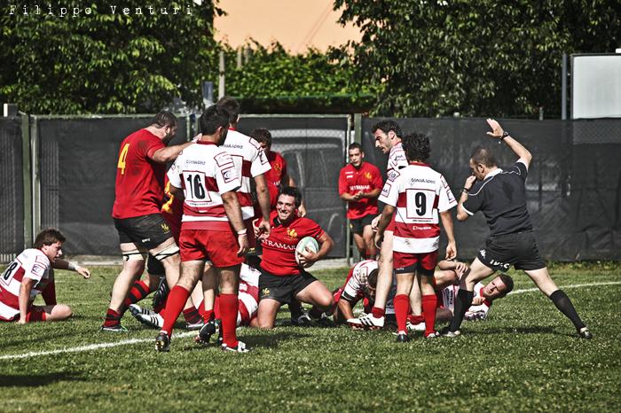 Il Romagna RFC conquista la Serie A (Romagna Rugby VS Rugby Casale) Photo 28