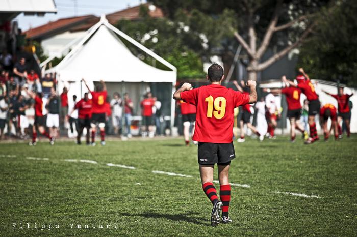 Il Romagna RFC conquista la Serie A (Romagna Rugby VS Rugby Casale) Photo 31