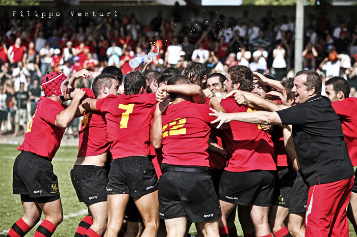 Il Romagna RFC conquista la Serie A (Romagna Rugby VS Rugby Casale) Photo 34