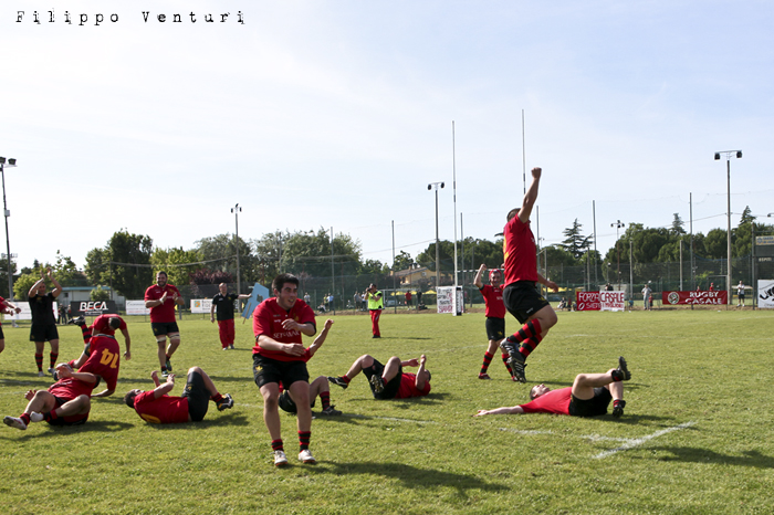 Il Romagna RFC conquista la Serie A (Romagna Rugby VS Rugby Casale) Photo 37
