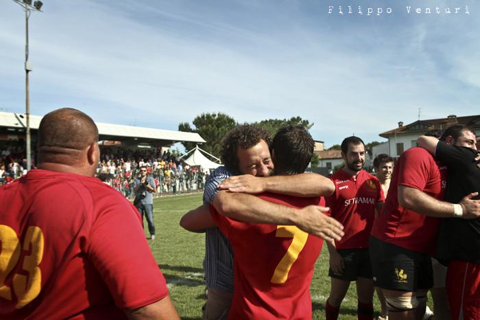 Il Romagna RFC conquista la Serie A (Romagna Rugby VS Rugby Casale) Photo 39