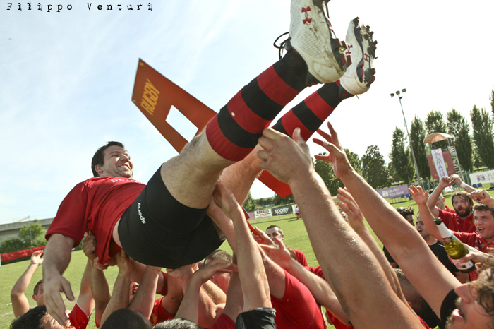 Il Romagna RFC conquista la Serie A (Romagna Rugby VS Rugby Casale) Photo 42