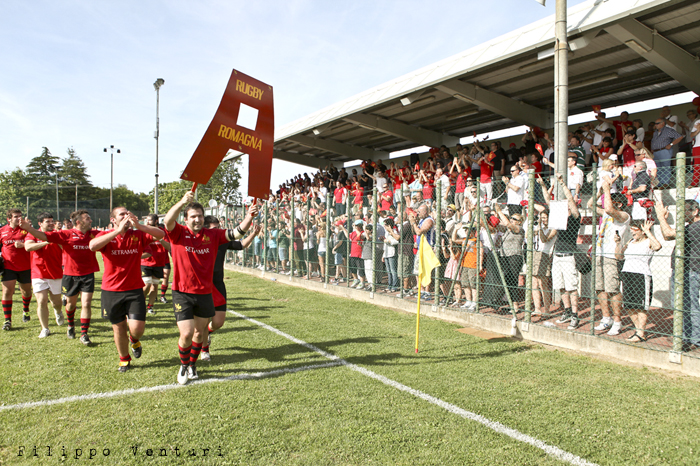 Il Romagna RFC conquista la Serie A (Romagna Rugby VS Rugby Casale) Photo 43