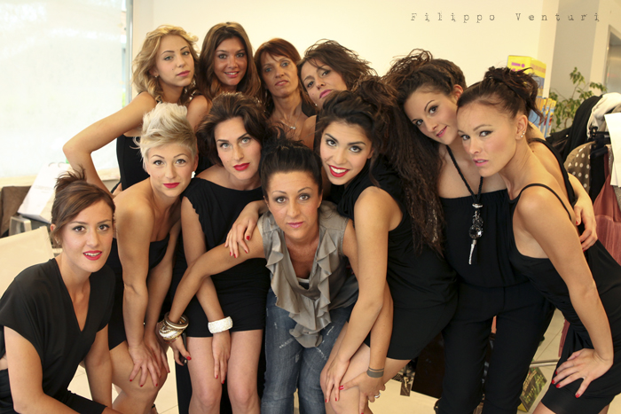 Backstage sfilata di moda, (Fashion show backstage), parte 2, foto 12