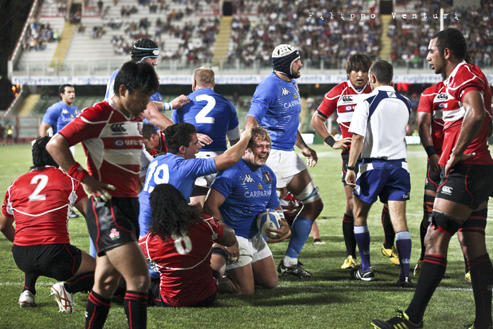Rugby: Italia-Giappone (Friends for Japan), part 2 (foto 22)