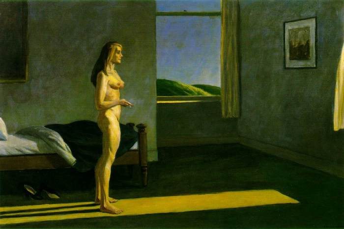 Edward Hooper, A woman in the sun (1961)