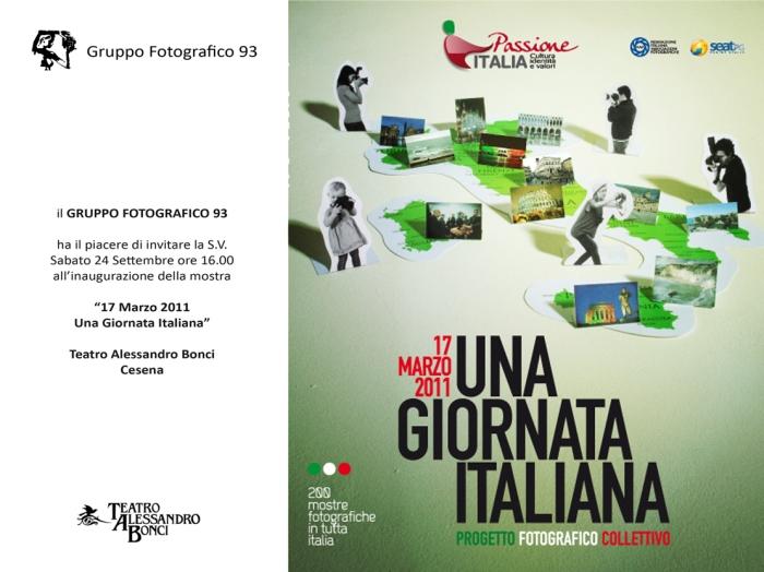 Passione Italia: 17 Marzo, Una giornata italiana