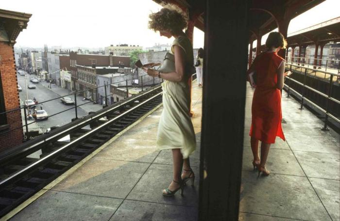 Bruce Davidson, Subway (photo 1)