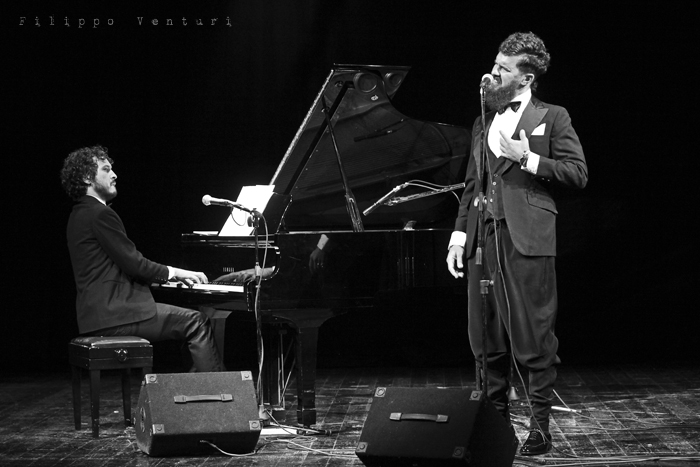 Gli Scontati al Teatro Petrella di Longiano (Giacomo Toni e Lorenzo Kruger), Tour 2011, foto 4