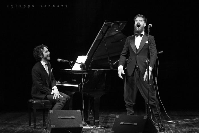 Gli Scontati al Teatro Petrella di Longiano (Giacomo Toni e Lorenzo Kruger), Tour 2011, foto 5