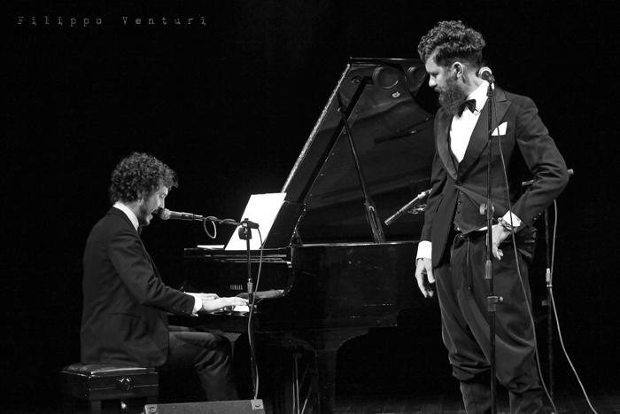 Gli Scontati al Teatro Petrella di Longiano (Giacomo Toni e Lorenzo Kruger), Tour 2011, foto 6