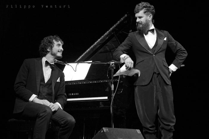 Gli Scontati al Teatro Petrella di Longiano (Giacomo Toni e Lorenzo Kruger), Tour 2011, foto 7