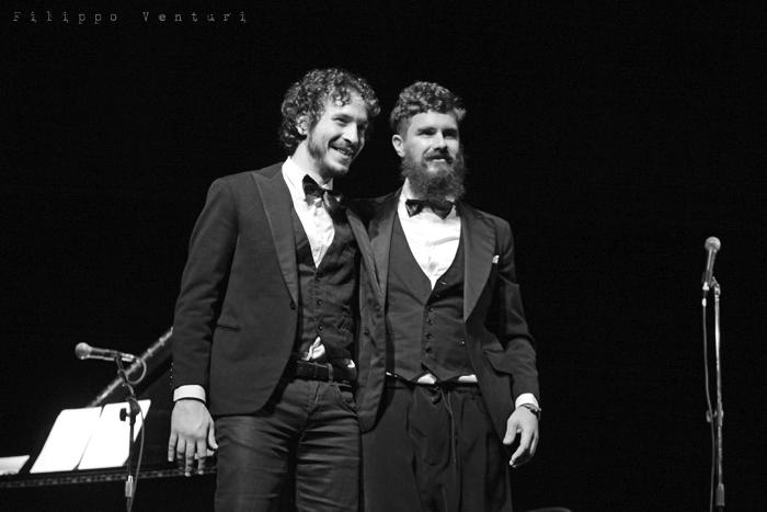 Gli Scontati al Teatro Petrella di Longiano (Giacomo Toni e Lorenzo Kruger), Tour 2011, foto 17